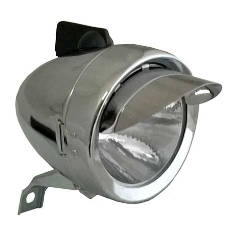 front bicycle lamp Bullet XL SUPERLED - 80 mm chrome DS - Powered ...