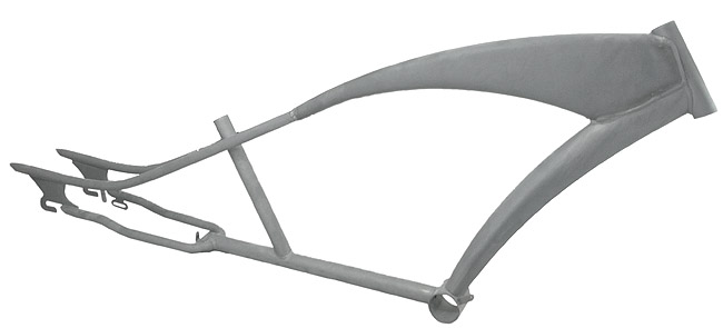 bicycle frame PUMA - STEEL phosphate - stretchcruiser limo - Powered ...
